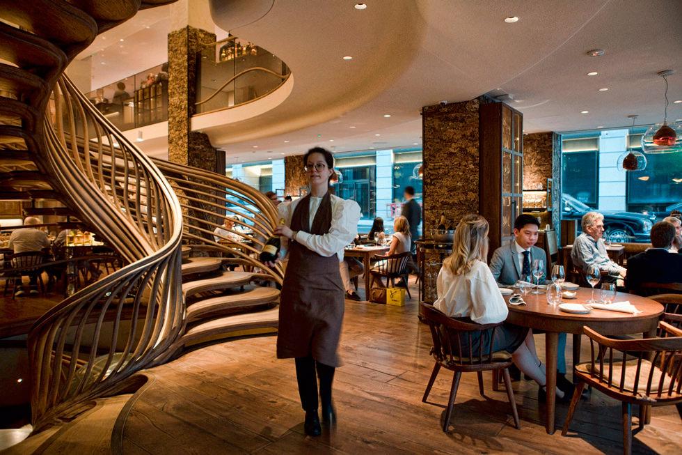 Ресторан Hide Лондон