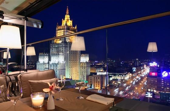 Restaurant White Rabbit Moscow