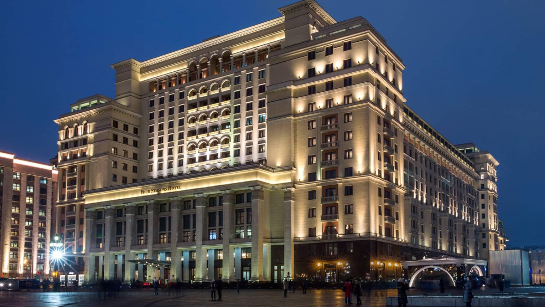 Самые крутые отели москвы фото